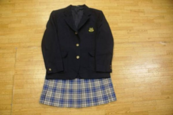 女子高生ブレザー制服